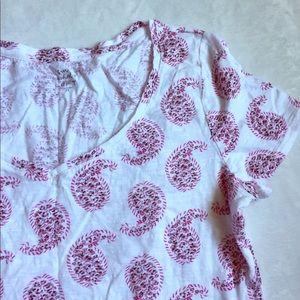 LOFT Sun Washed T - Paisley Print